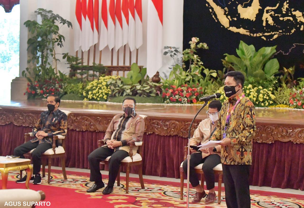 Indonesia International Motor Show (IIMS) Hybrid 2021 Resmi Dibuka Presiden Jokowi